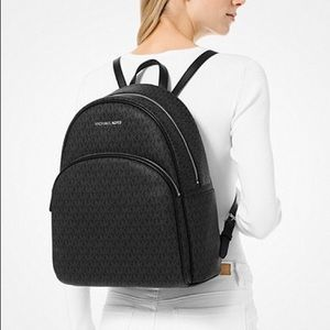 Authentic Michael Kors large Abbey backpack